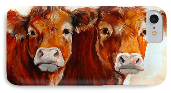 Cow Cow IPhone Case