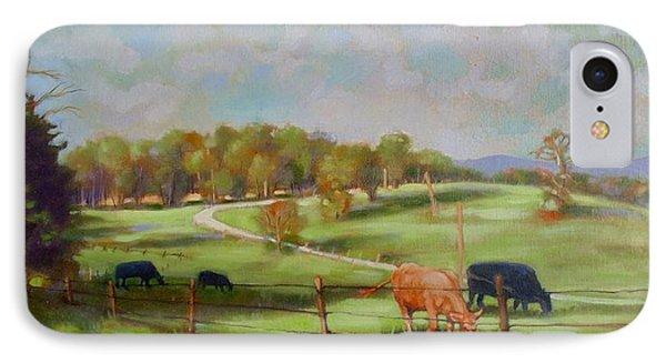 Cow Landscape IPhone Case