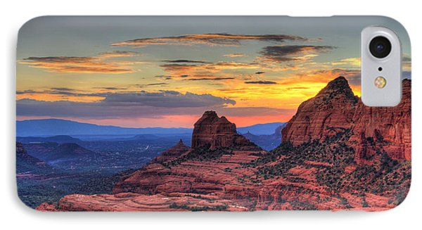Cow Pies Sunset IPhone Case