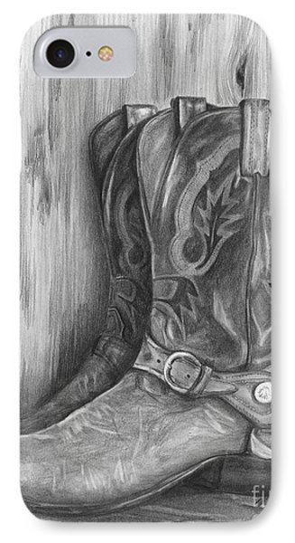 Cowboy Boot Study IPhone Case