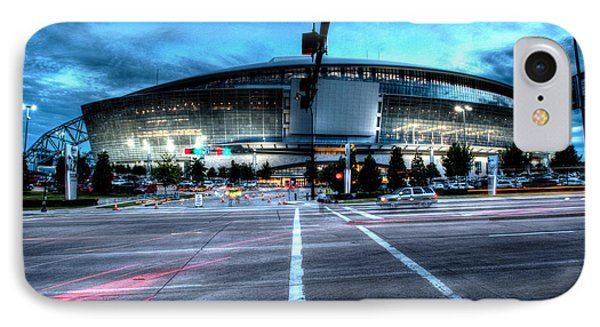 Cowboys Stadium Pregame IPhone Case