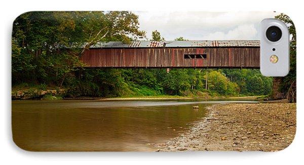 Cox Covered Bridge IPhone Case