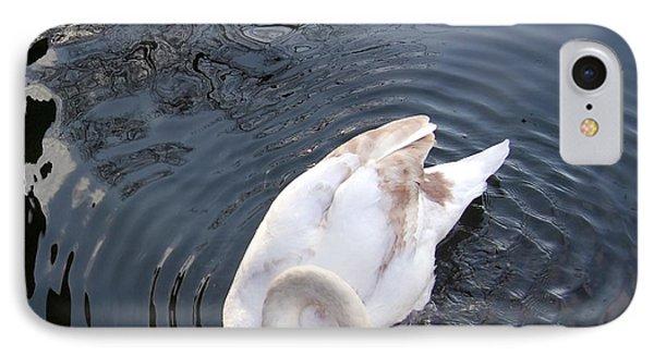 Coy Swan IPhone Case