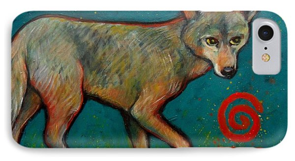 Coyote Of The Symbol IPhone Case