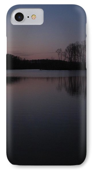 Crab Orchard Lake At Peace - 2 IPhone Case