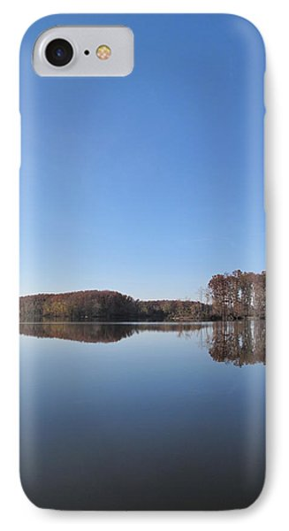 Crab Orchard Lake's Blue Mood IPhone Case