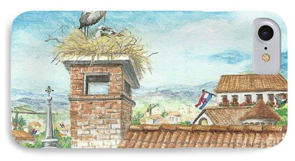 Cranes In Croatia IPhone Case