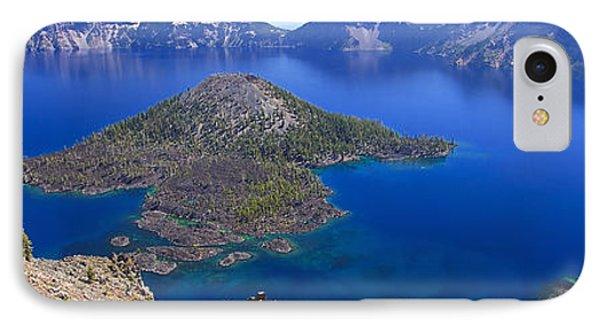 Crater Lake Panorama 090914a IPhone Case