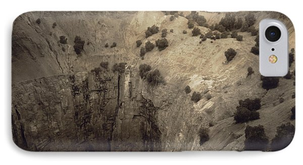 Republic Of South Africa iPhone 8 Case - Crater Of Fortune Diamond Mine by Underwood Archives