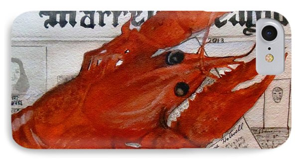 Crawdaddy IPhone Case