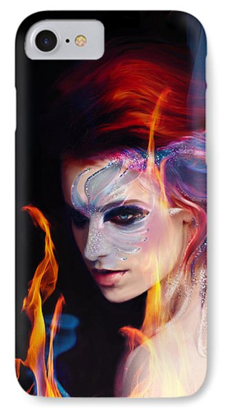 Creation Fire And Flow IPhone Case