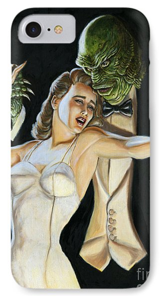 Creature From The Black Tie Lagoon IPhone Case