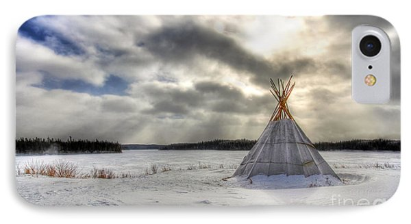 Cree Tepee IPhone Case