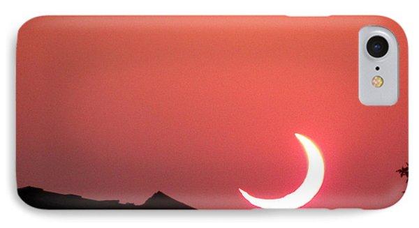 Crescent Sunset IPhone Case