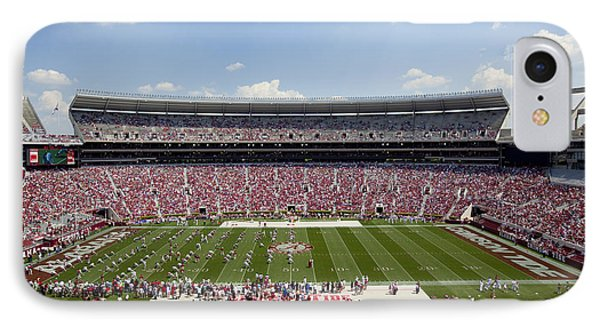 Crimson Tide A-day Football Game At University Of Alabama  IPhone Case