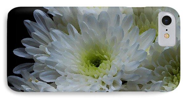 Crisantemos IPhone Case