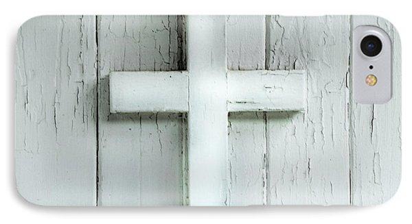Cross On Holy Angels Sugar Island Michigan IPhone Case