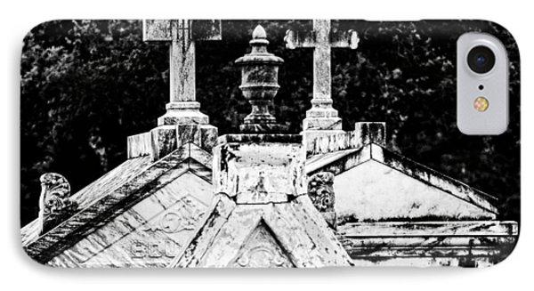 Crosses Of Metairie Cemetery IPhone Case