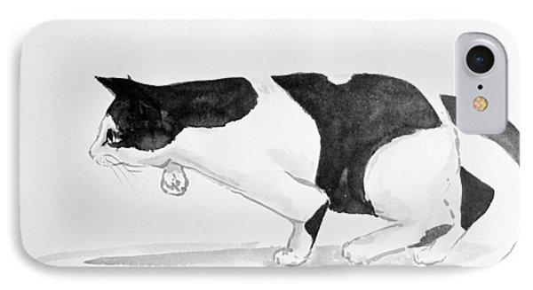 Crouching Cat IPhone Case