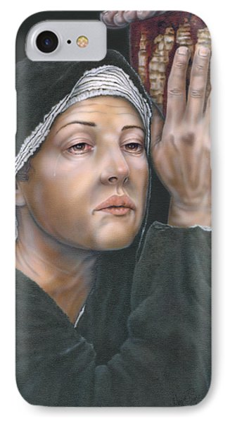 Crucifixion- Mothers Pain IPhone Case