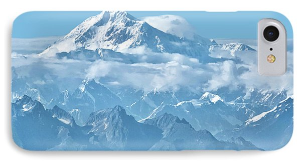 Crystal Clear Mt. Mckinley IPhone Case