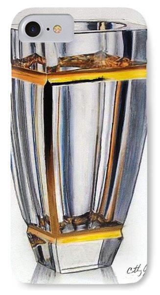 Crystal Vase 1 IPhone Case