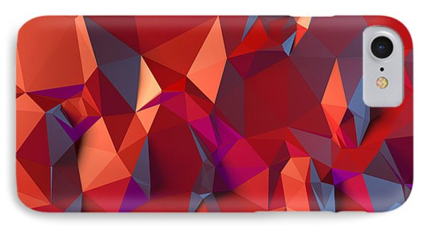 Crystal Volcanic IPhone Case