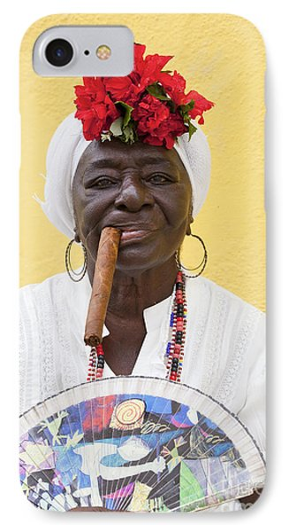 Cuban Lady Two IPhone Case