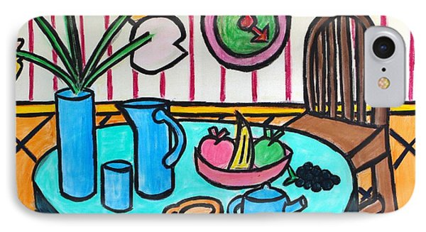 Cubist Lunch IPhone Case