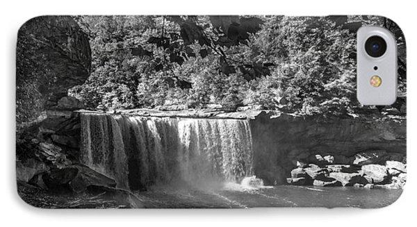 Cumberland Falls Six Bw IPhone Case