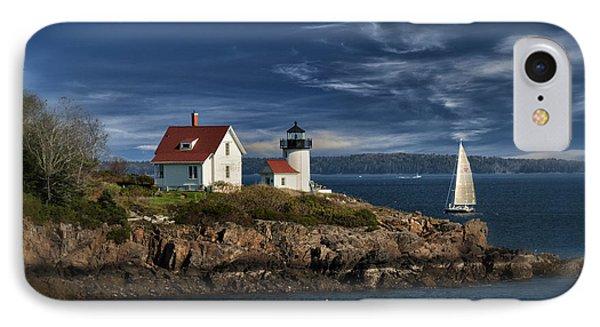Curtis Island Lighthouse Maine Img 5988 IPhone Case