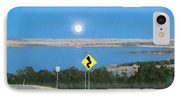 Curved Road Ahead-1 IPhone Case
