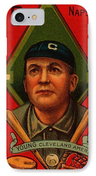 Cy Young 1911 Baseball Card IPhone Case