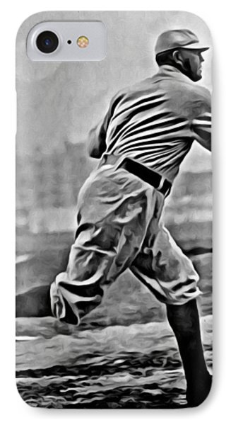 Cy Young Painting IPhone Case