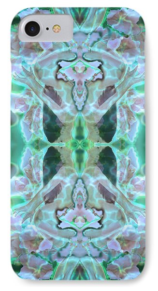 Cyan Fairy Kiss Of Enlightenment IPhone Case
