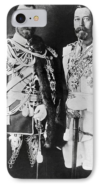 Czar Nicholas And King George V IPhone Case