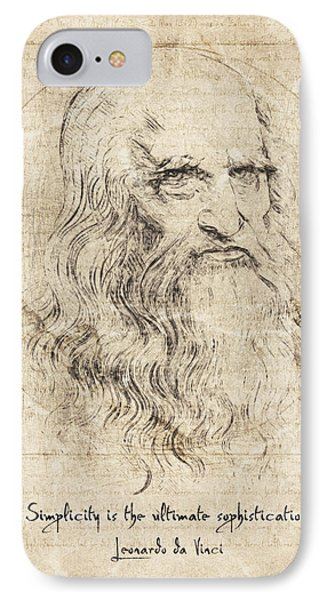 Da Vinci Quote IPhone Case