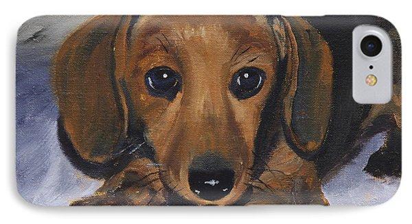 Dachshund Puppy IPhone Case