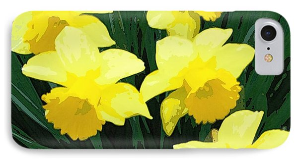 Daffodil Song IPhone Case
