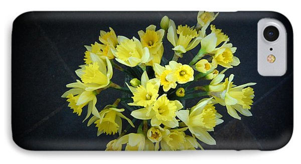 Daffodils Reaching Out IPhone Case