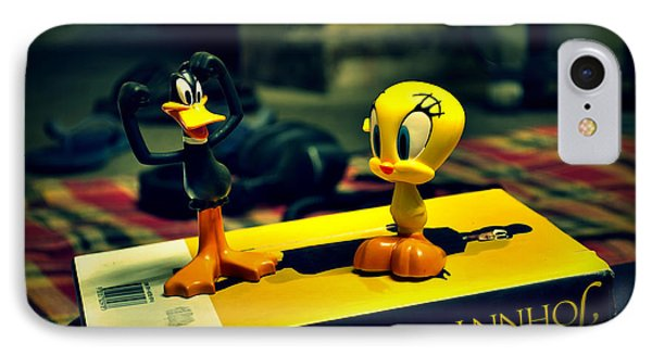 Daffy Tweety And Johnny IPhone Case