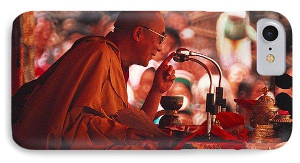 Dalai Lama, Nobel Prize 1989 IPhone Case