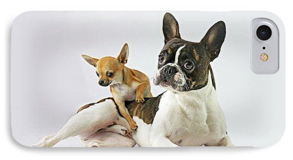 Puppies iPhone 8 Case - Dali & Alfredo by Ddiarte