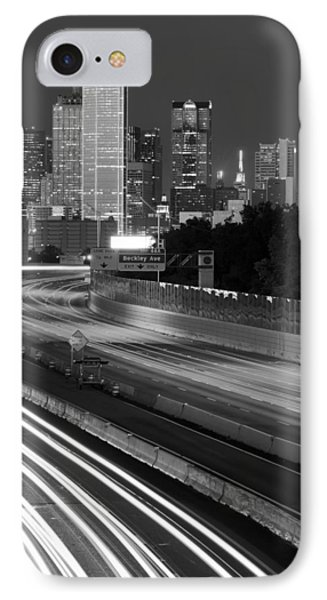 Dallas Arrival Bw IPhone Case