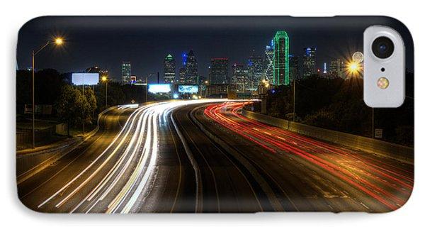 Dallas Night Light IPhone Case