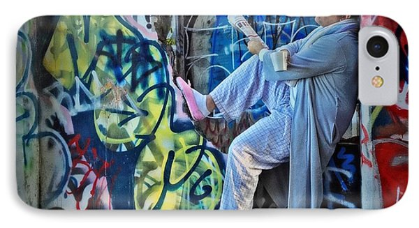 Dalyn At The Graffiti Underground IPhone Case