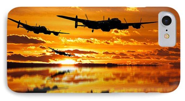 Dambusters Avro Lancaster Bombers IPhone Case