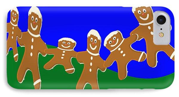 Dancing Cookies IPhone Case
