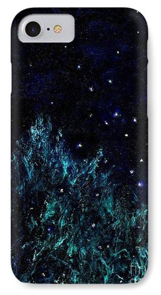 Dancing Fireflies IPhone Case