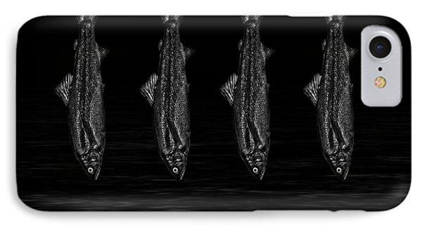 Dancing Fish At Night 1 IPhone Case